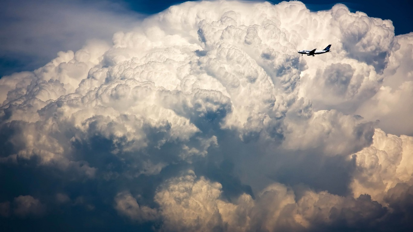 Storm Cloud  Airbus