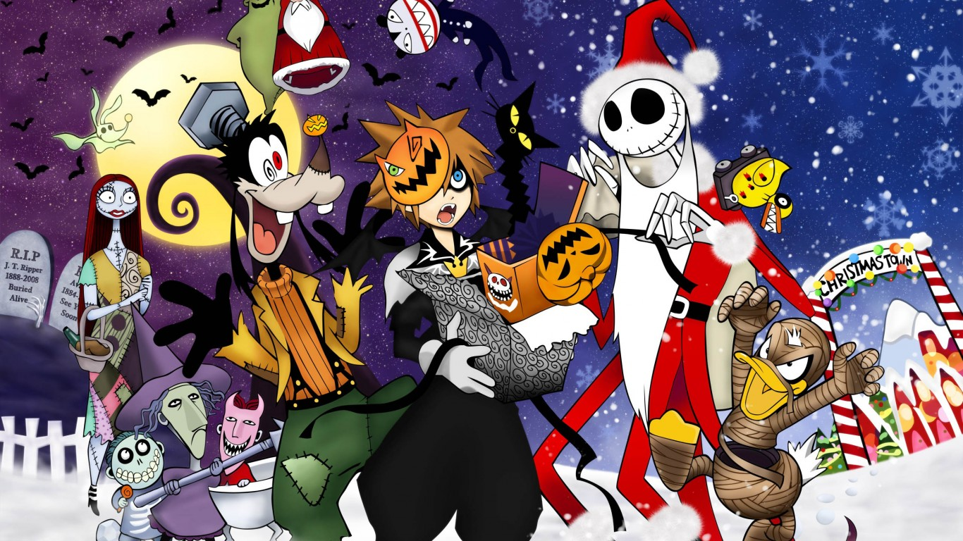 Kingdom Hearts Halloween Town