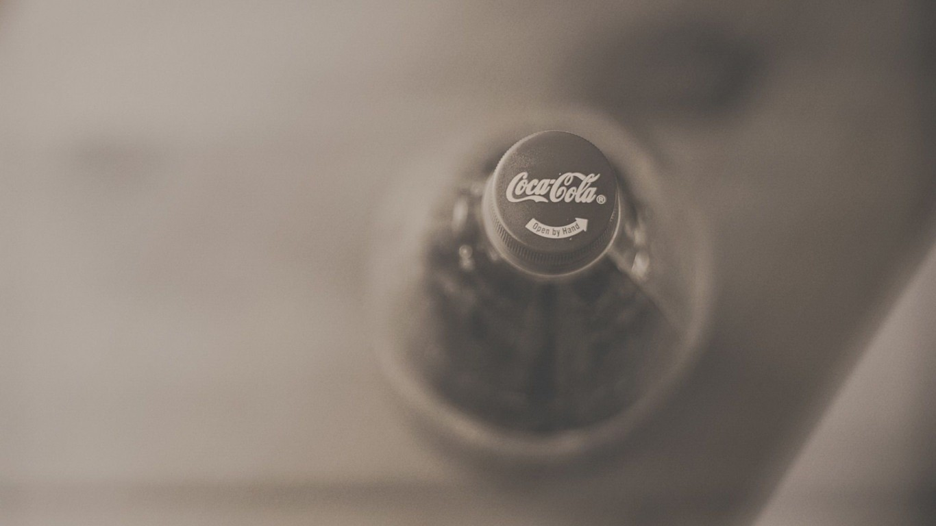 Coca-Cola  Depth Of Field