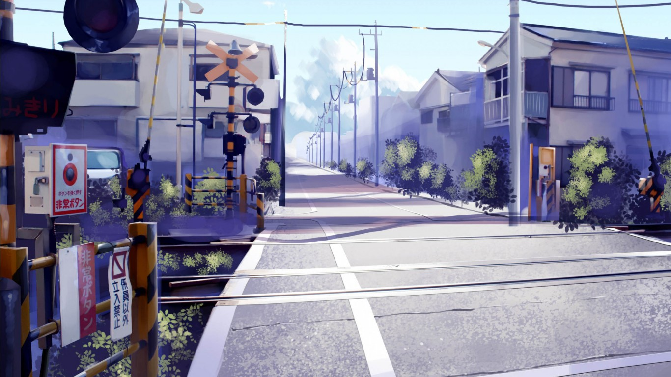 Japan Railroad Crossing