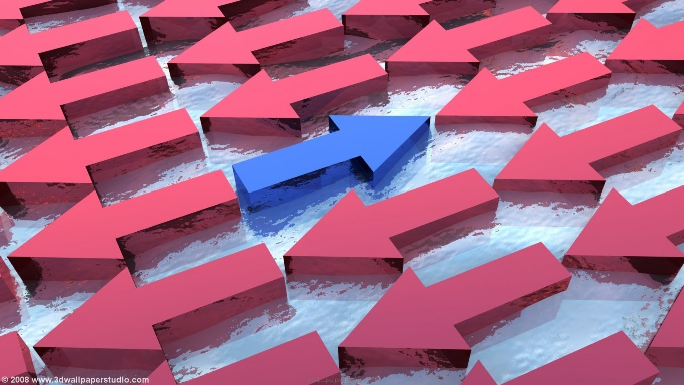 Abstract  Arrows  3D