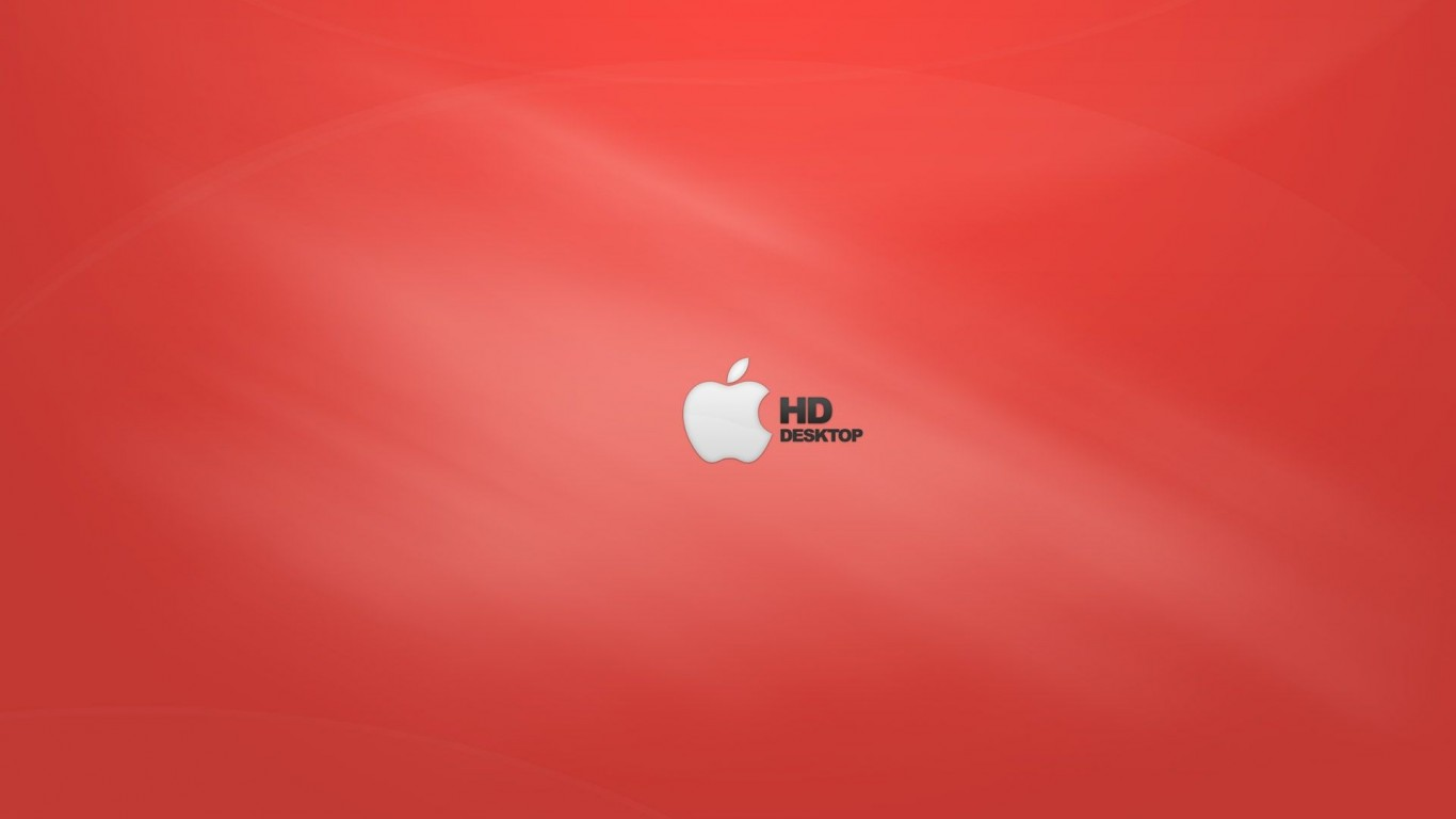 Apple HD Red
