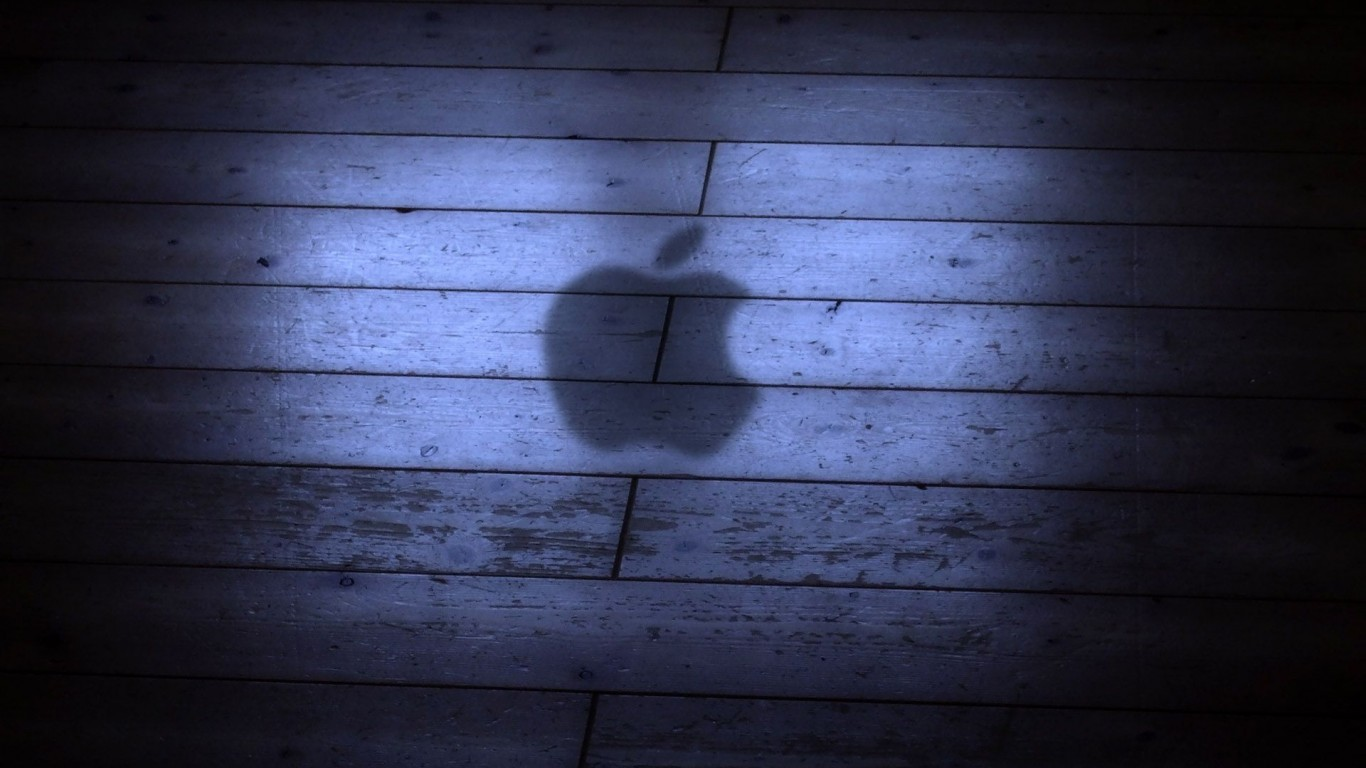 Apple Logo Shadow