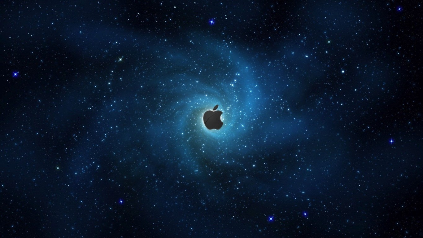 Apple In Stars