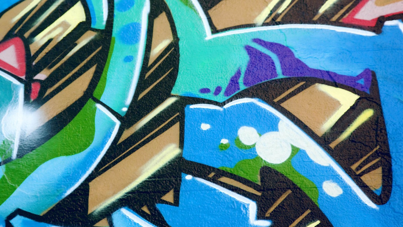 Graffiti Blue