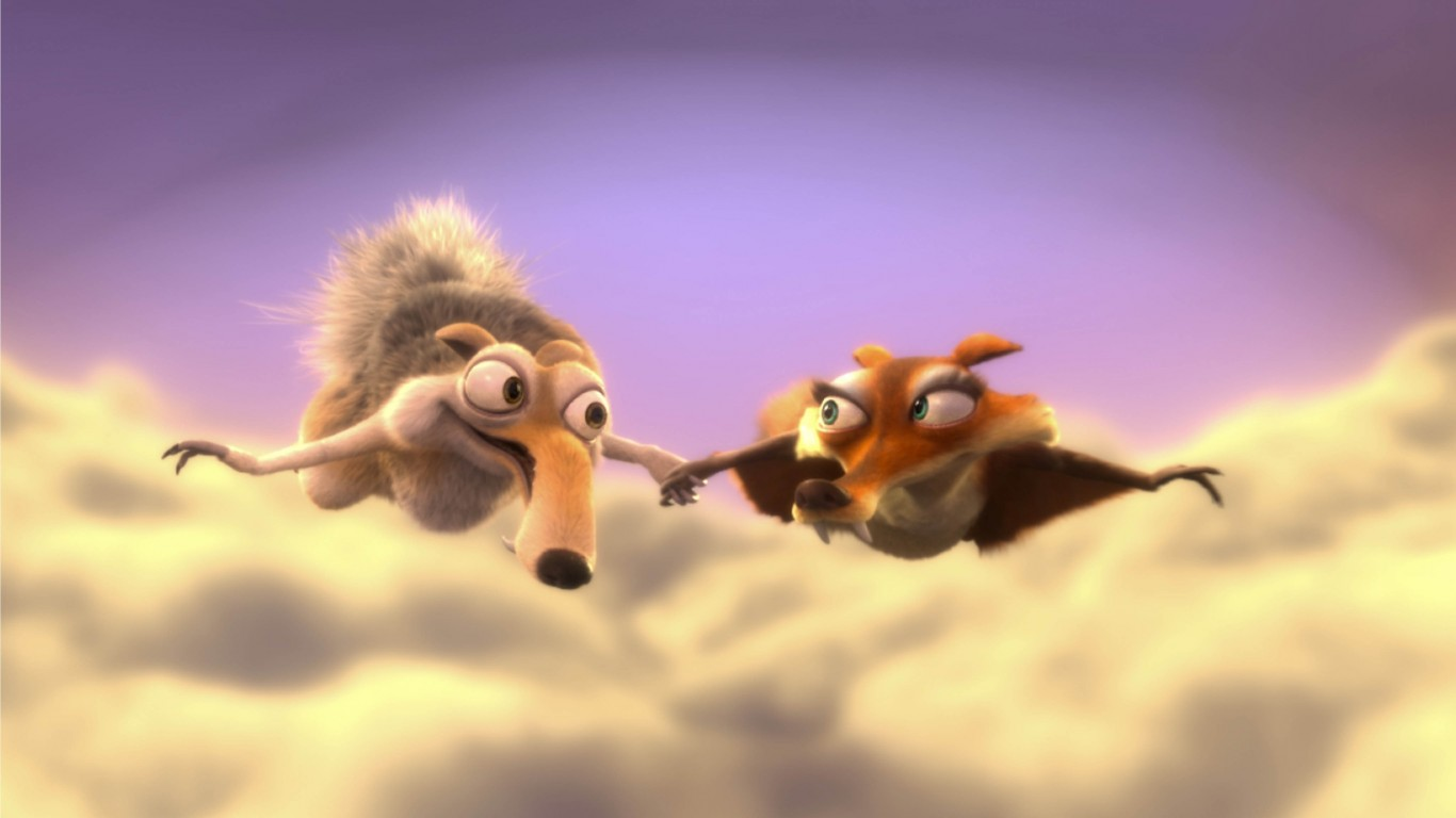 Ice Age 3 Dawn Of The Dinosaurs – Scrat And