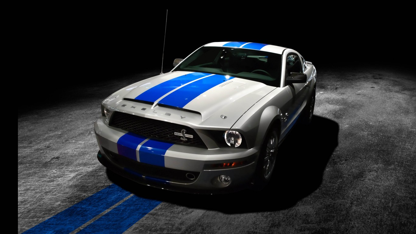 Shelby Mustang GT500KR By TheCrow