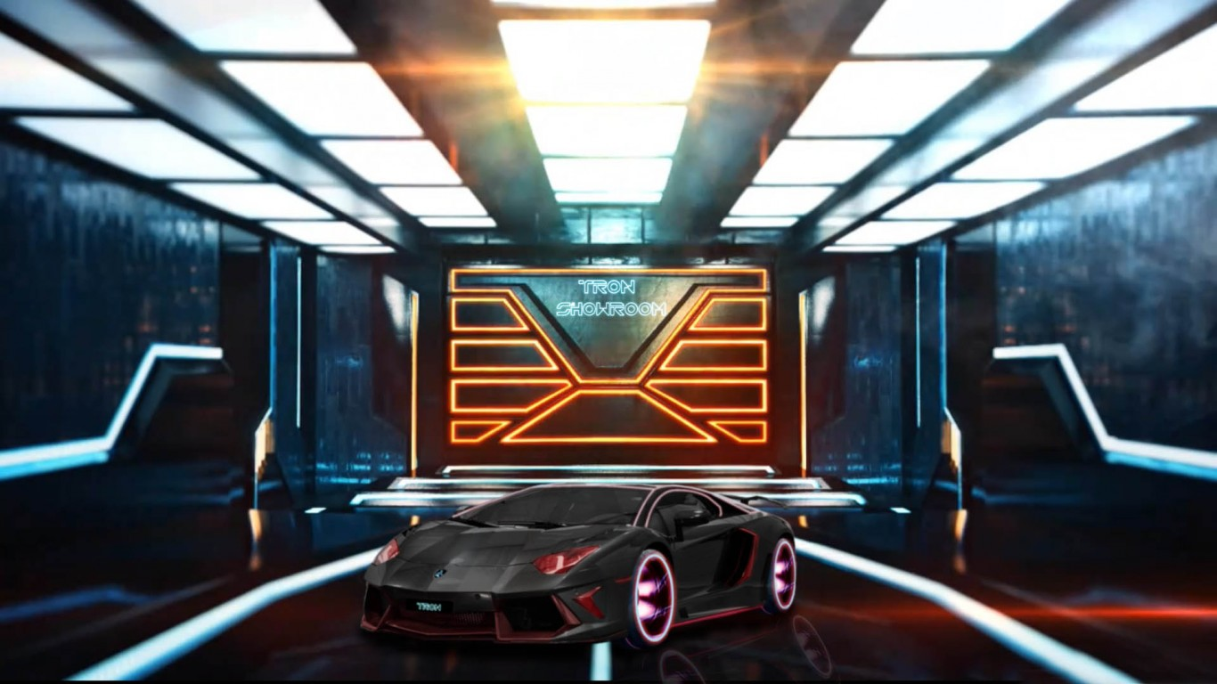 Tron Showroom