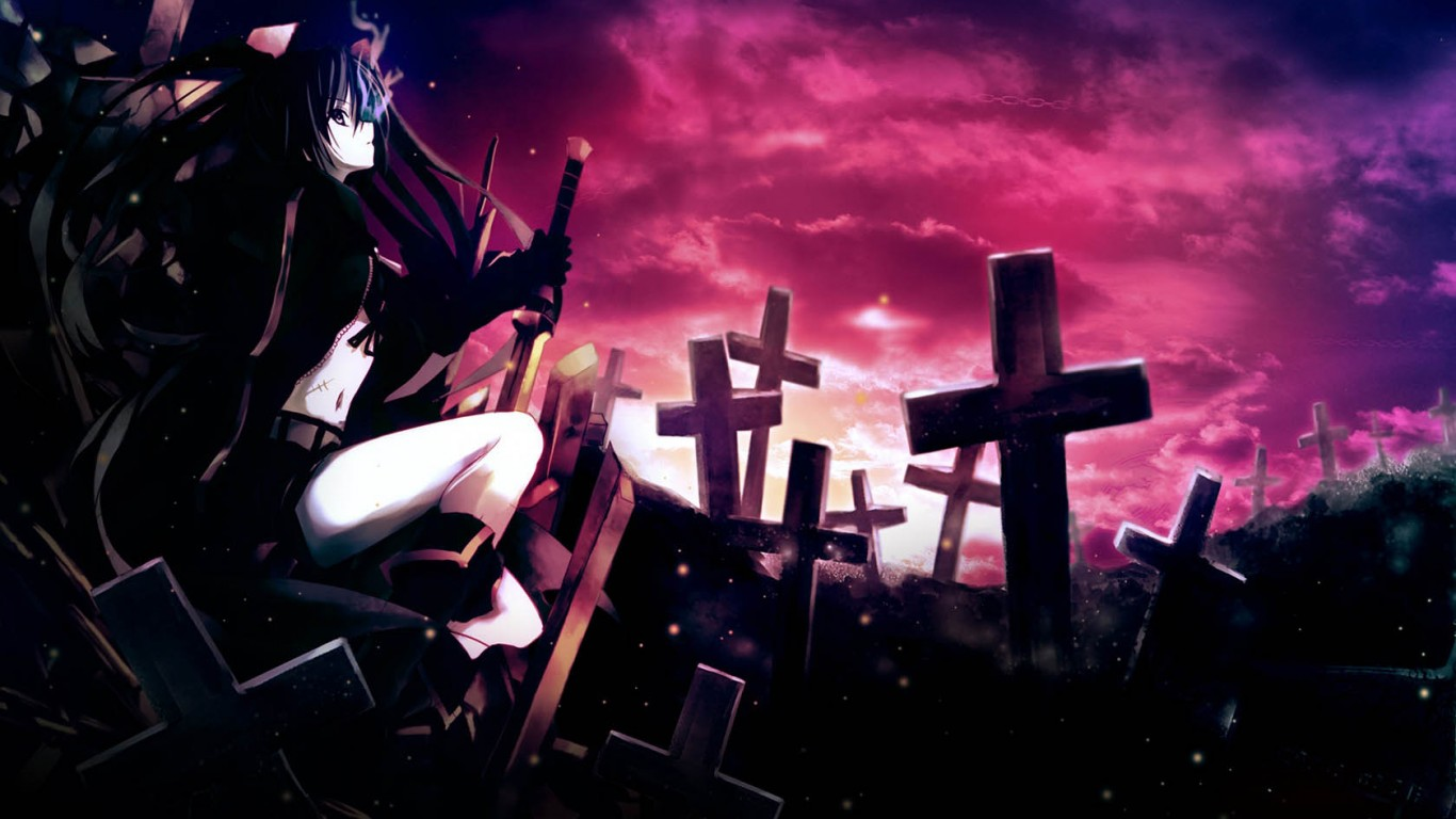 Black Rock Shooter  Cemetery