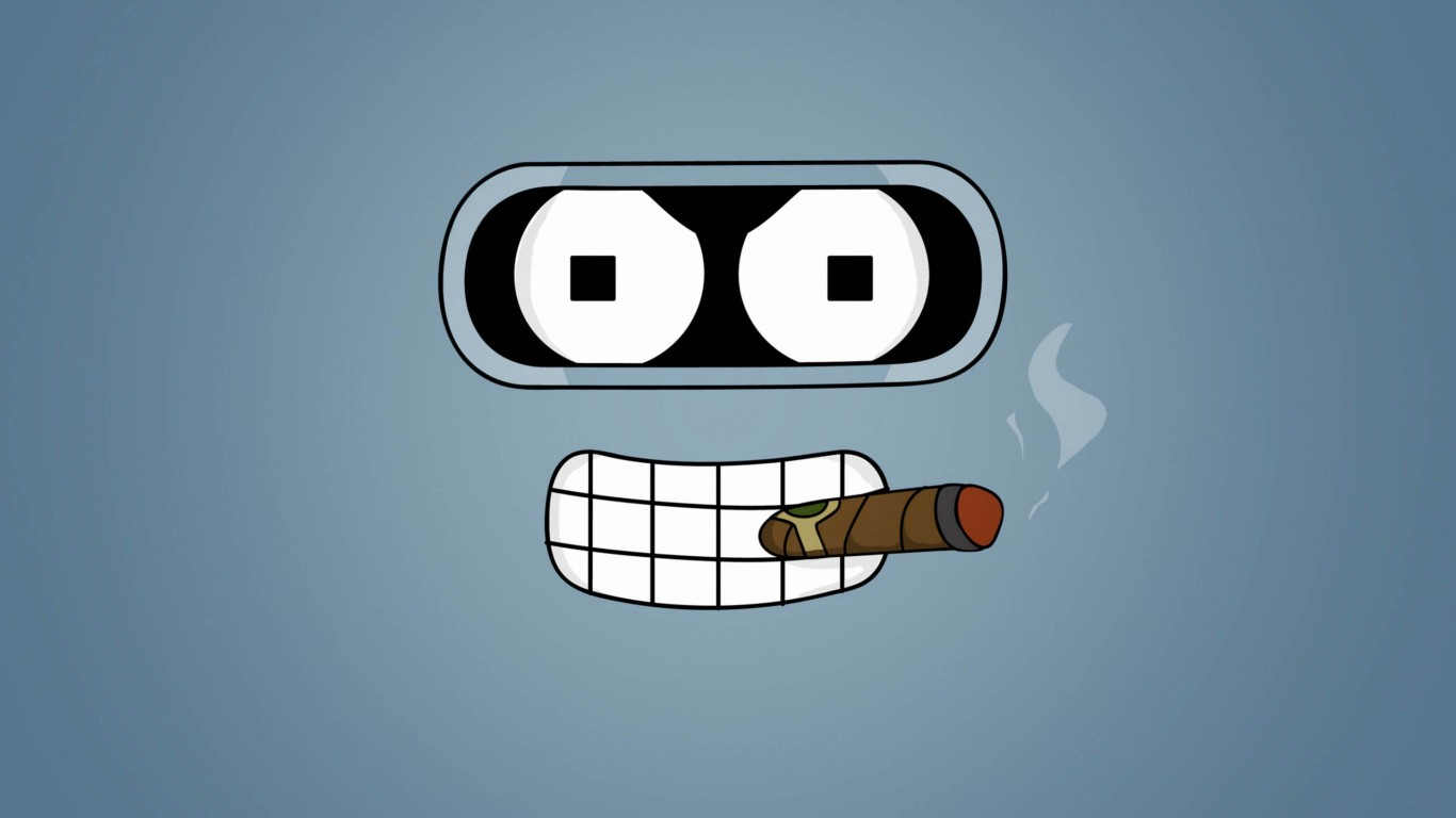 Futurama Bender Cigar