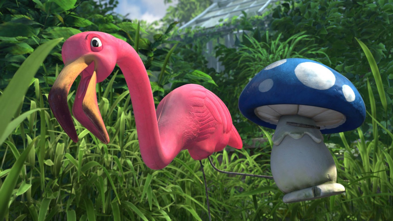 Gnomeo & Juliet – Featherstone And Shroom