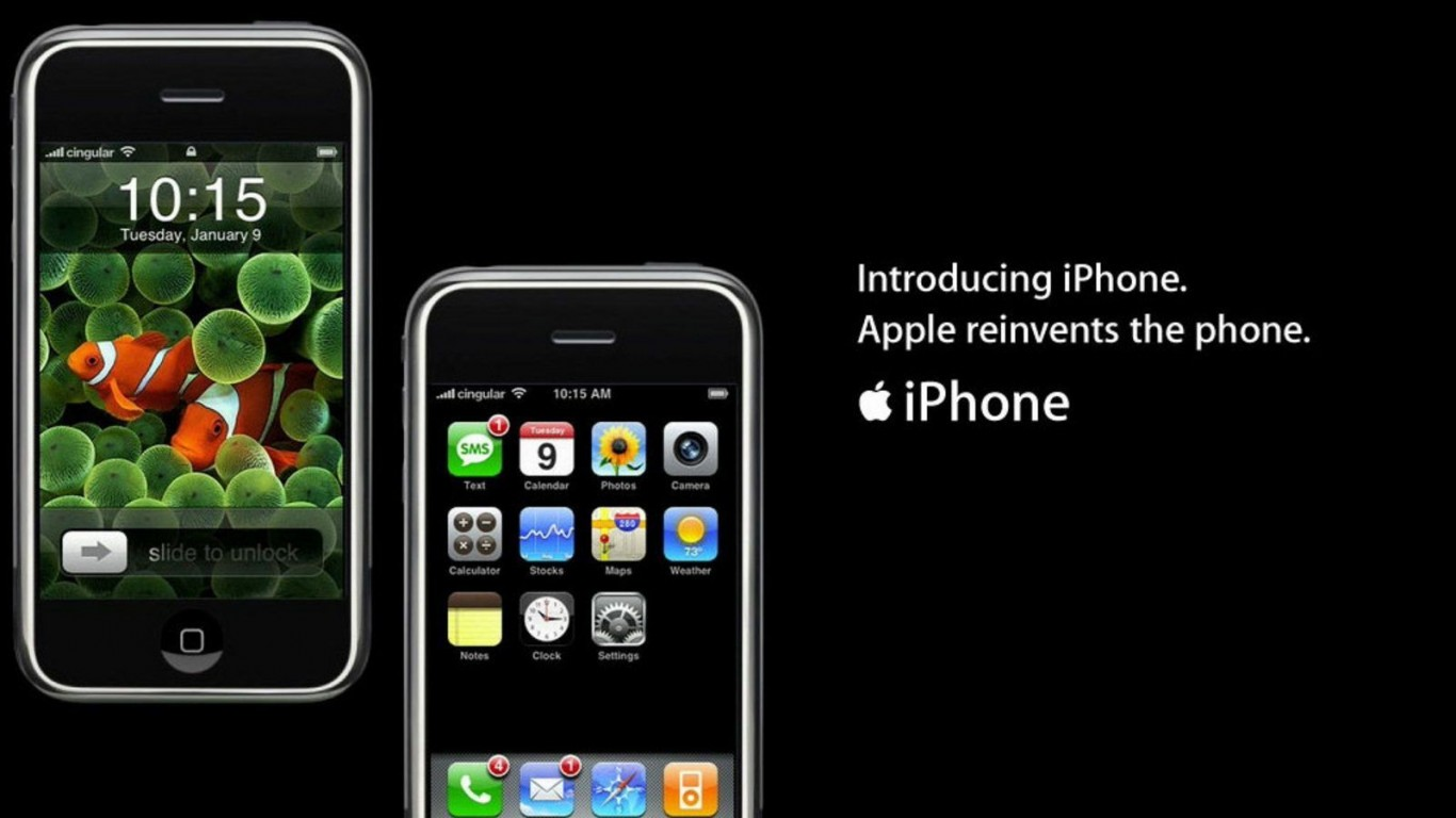 Introducing Apple IPhone