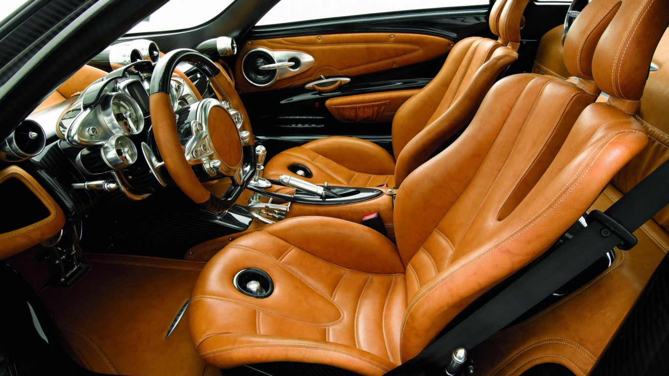 Pagani Huayra Drivers Side Interior