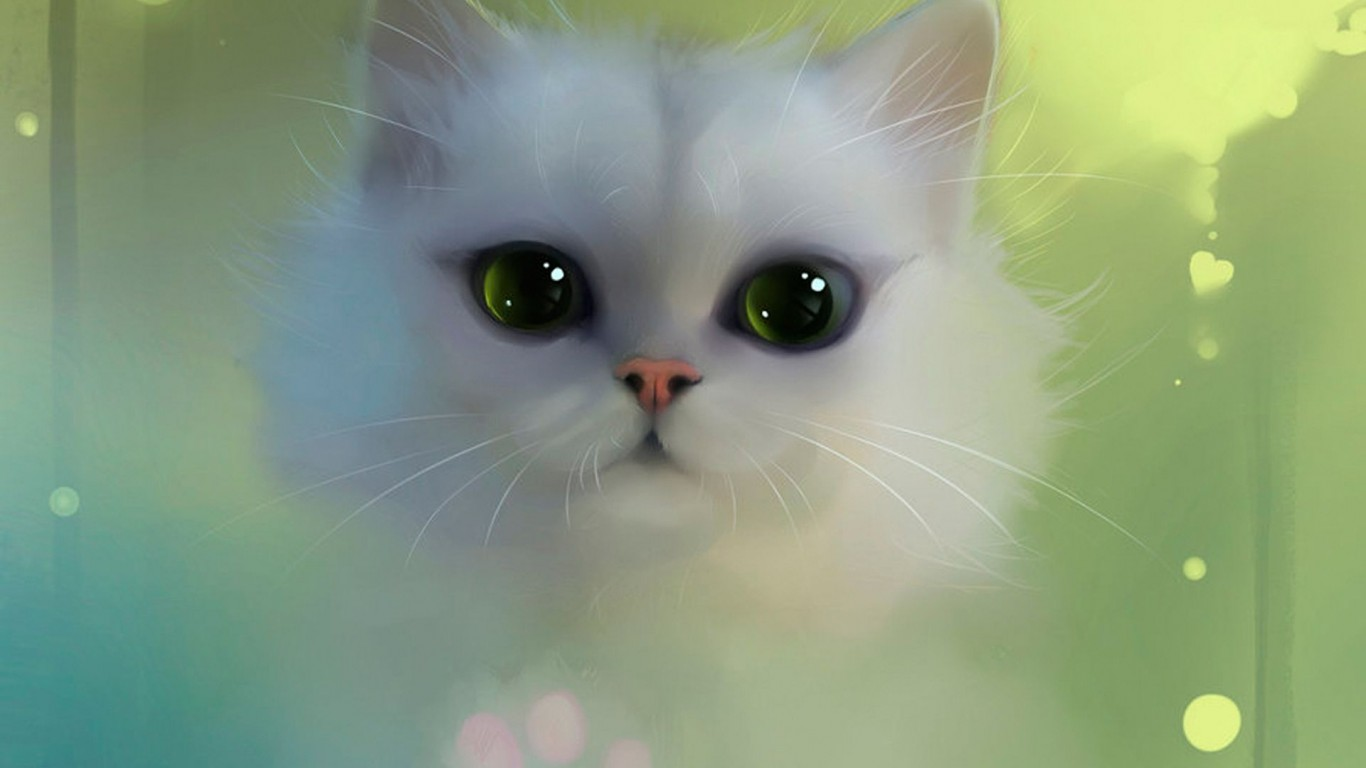 White  Cat  Eyes 01