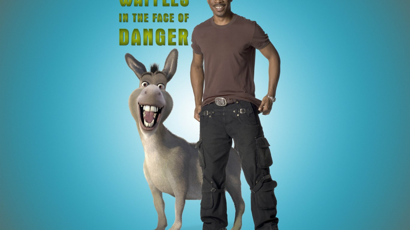 Eddie Murphy As Donkey  Shrek Forever After