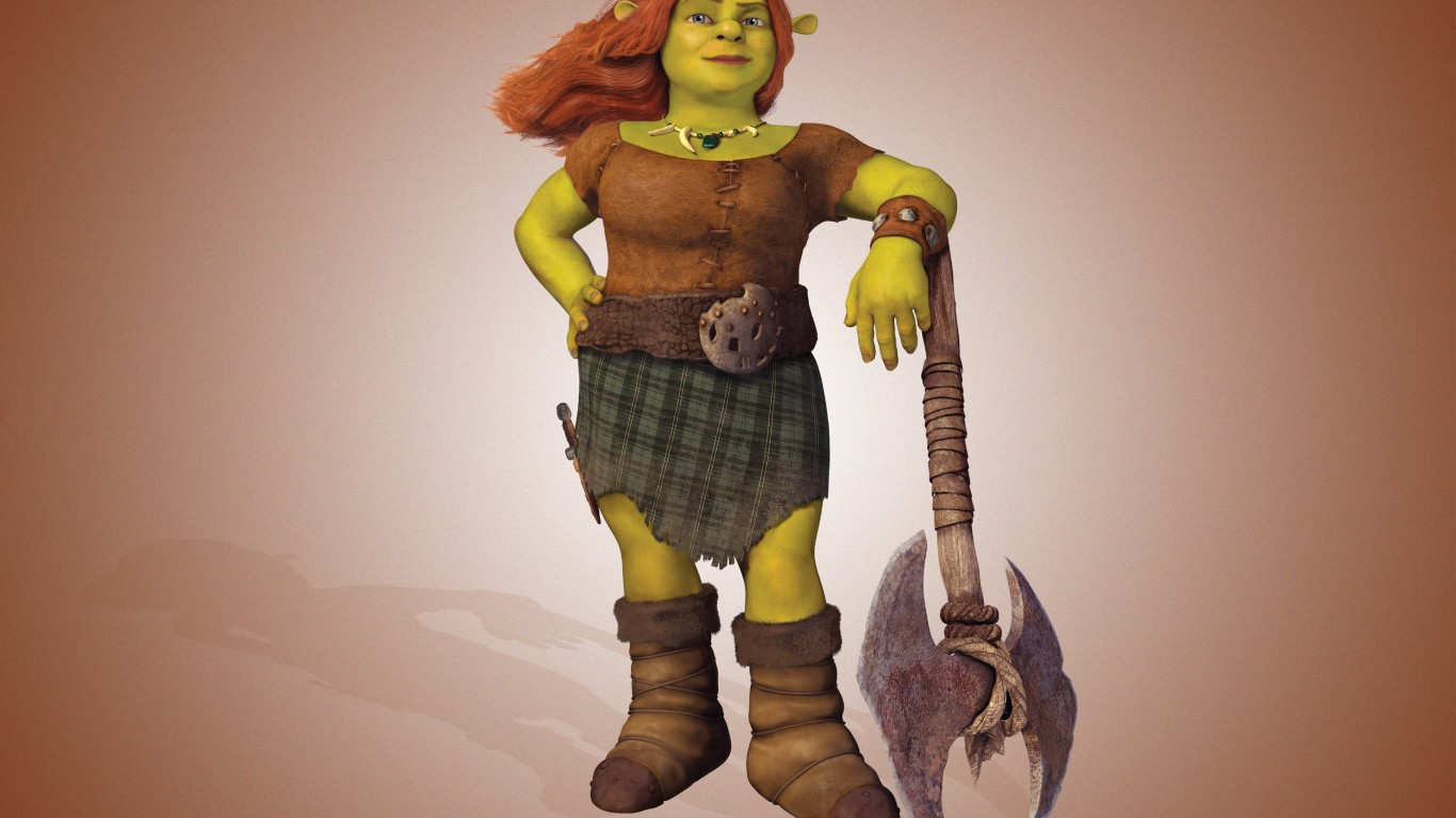 Fiona  Shrek Forever After
