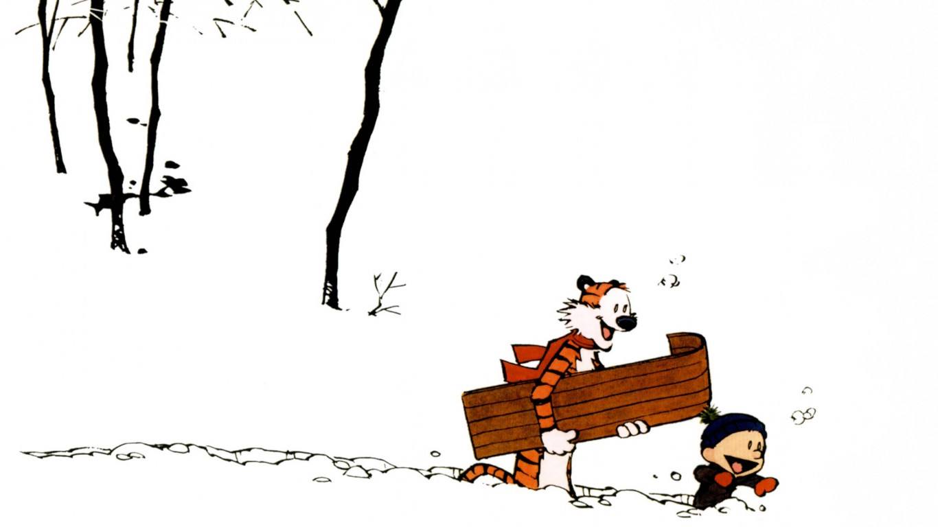Calvin And Hobbes  Winter