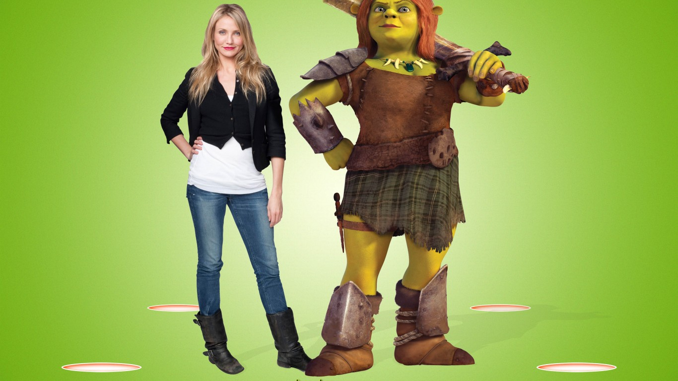 Cameron Diaz As Princess Fiona  Shrek Forever