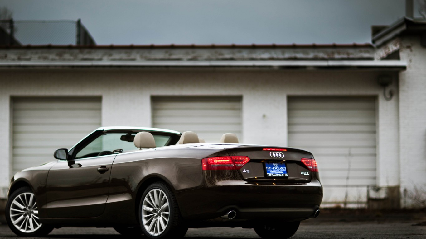 Audi A5 Cabriolet In Teak Brown