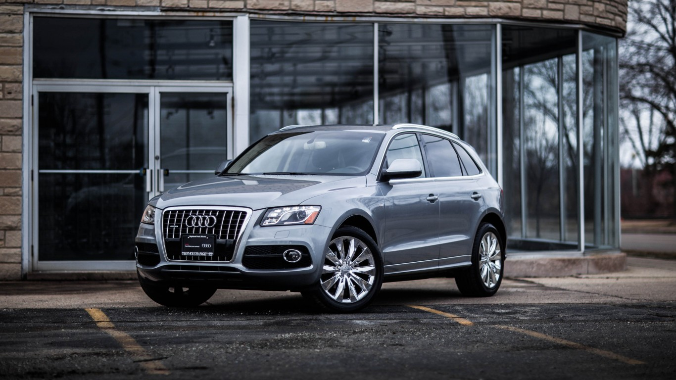 Audi Q5 With Chrome Wheels