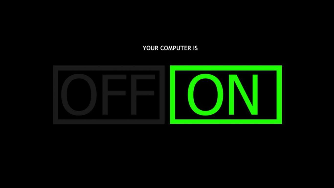 Computer  On  Off
