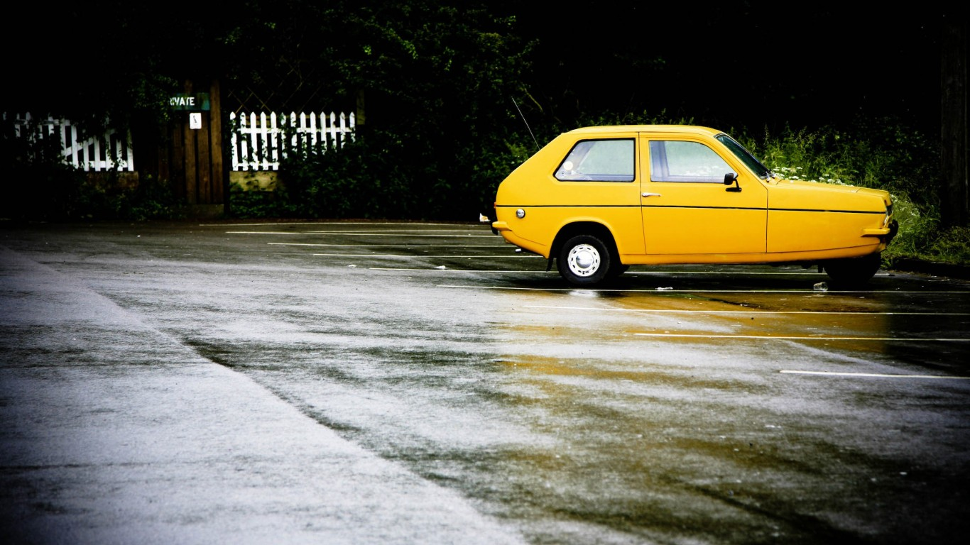 Small Yellow Car