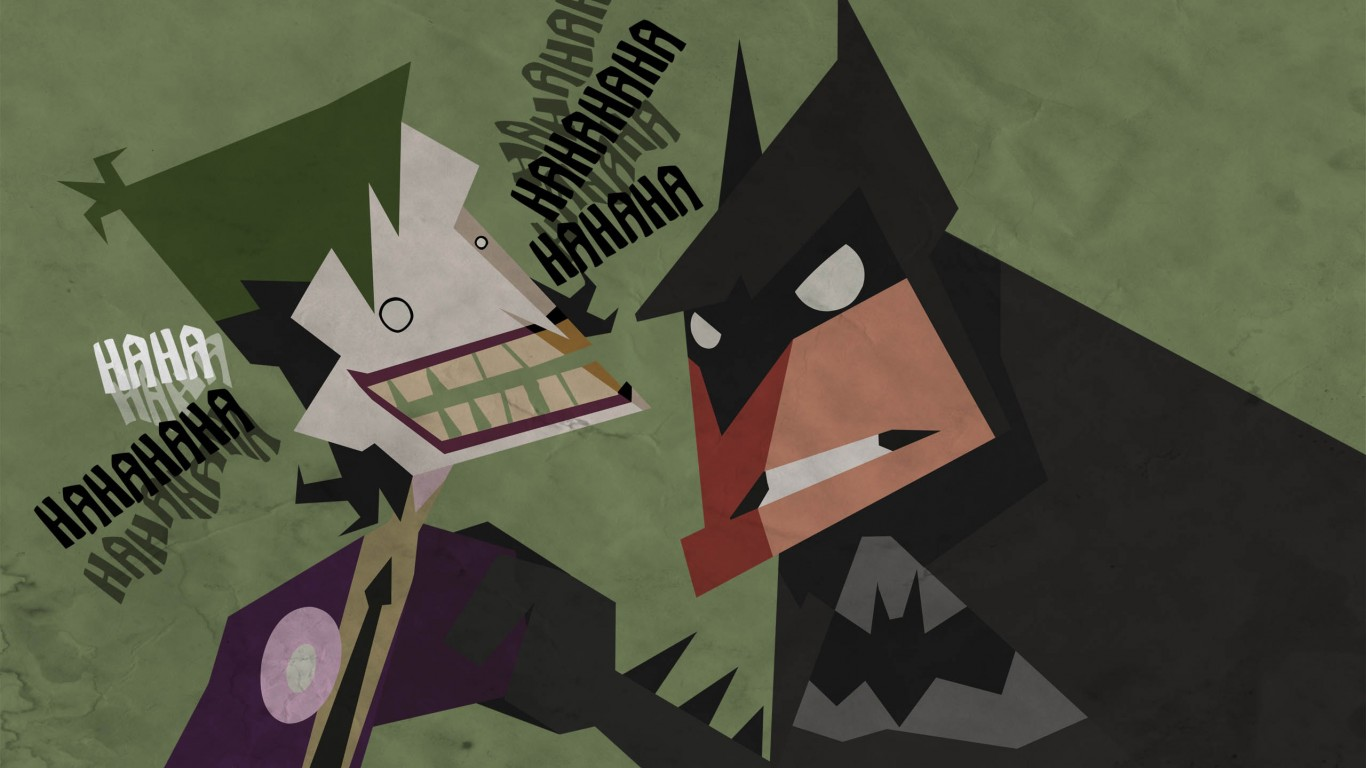 Batman And Joker Cartoon