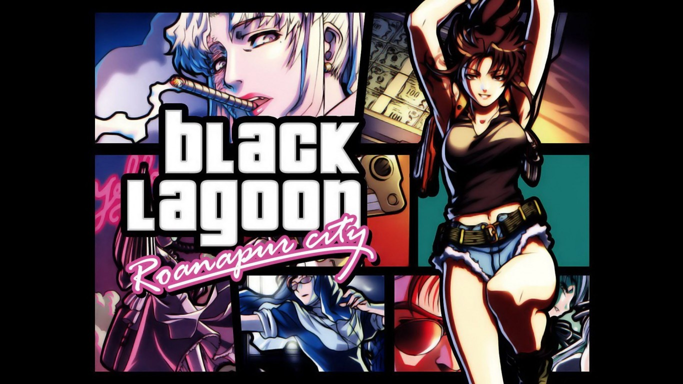 Black Lagoon  Anime Girls