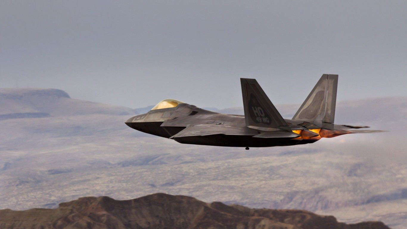 Aircraft  F-22 Raptor  Aviation