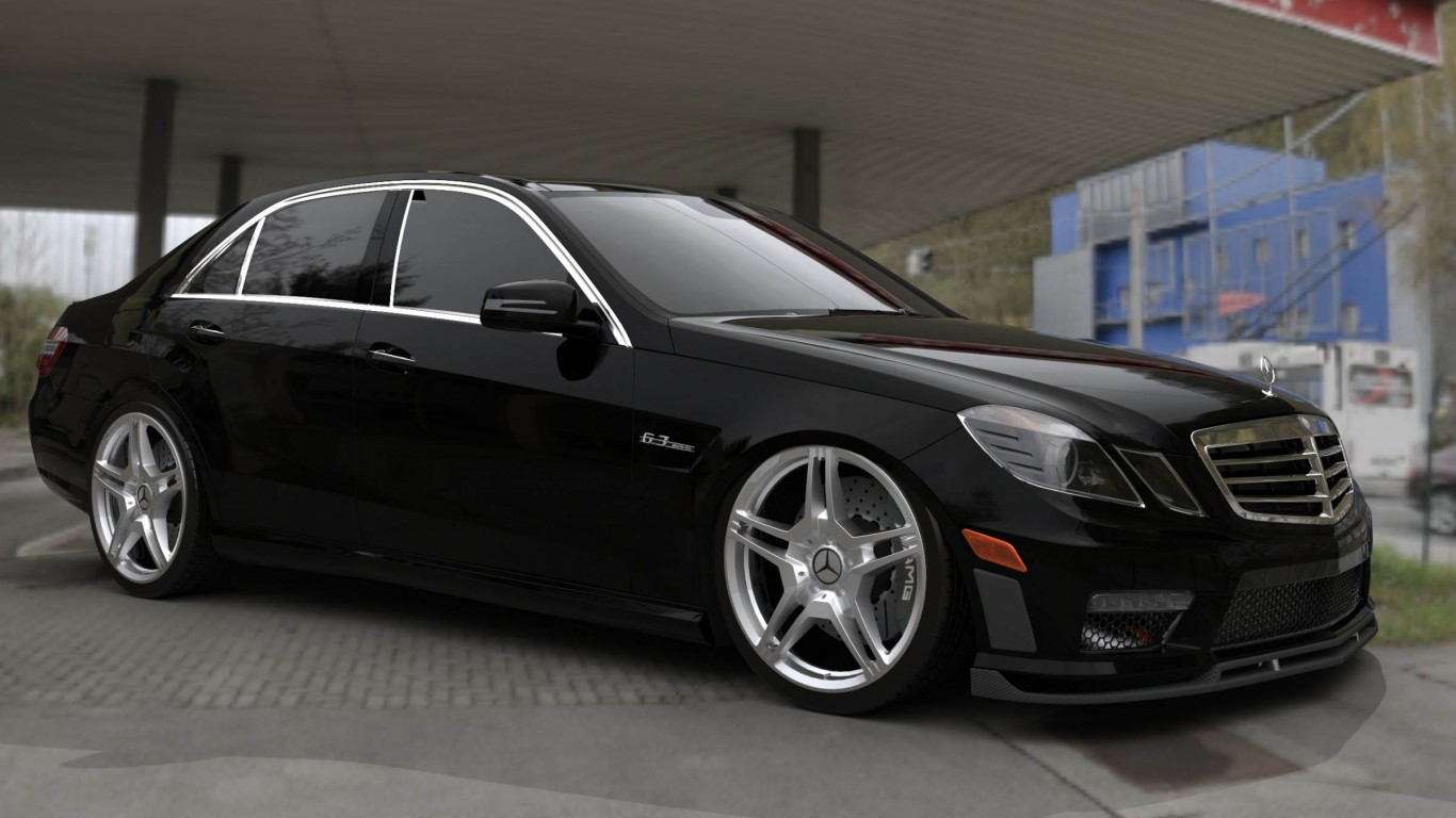 Mercedes Benz E63 (RENDER)