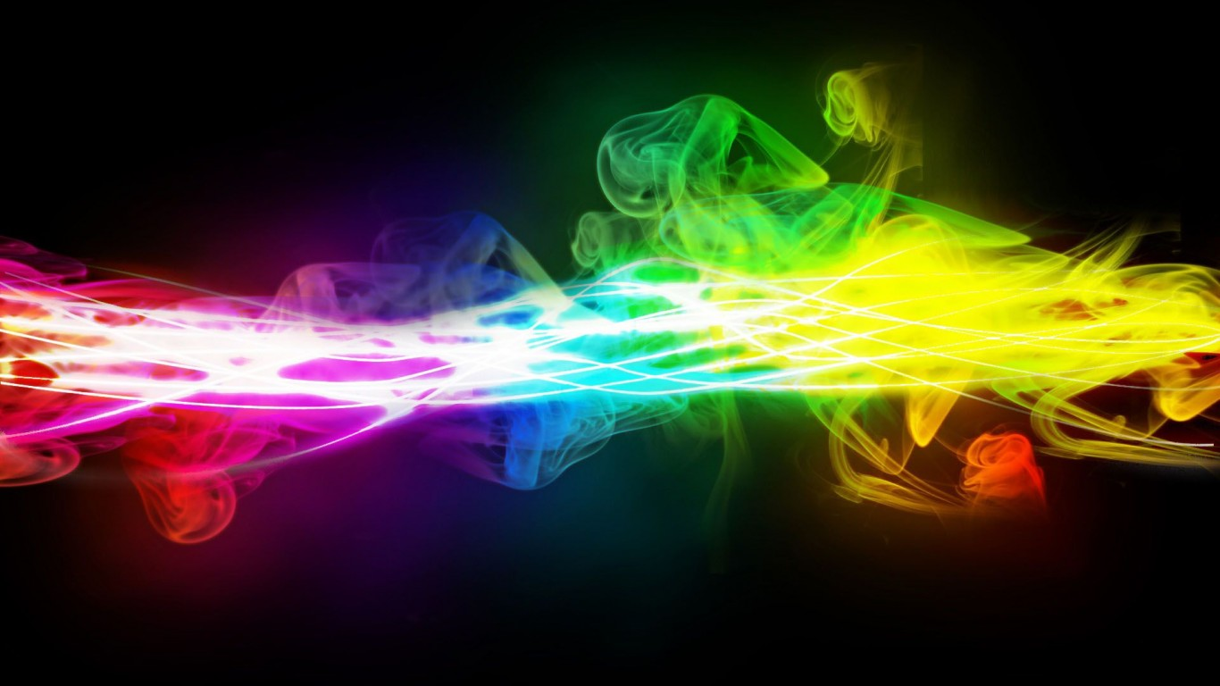 Rainbow Smoke Contrast
