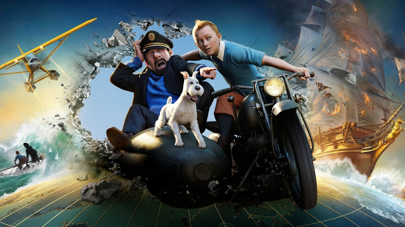 The Adventures Of Tintin The Secret Of The.