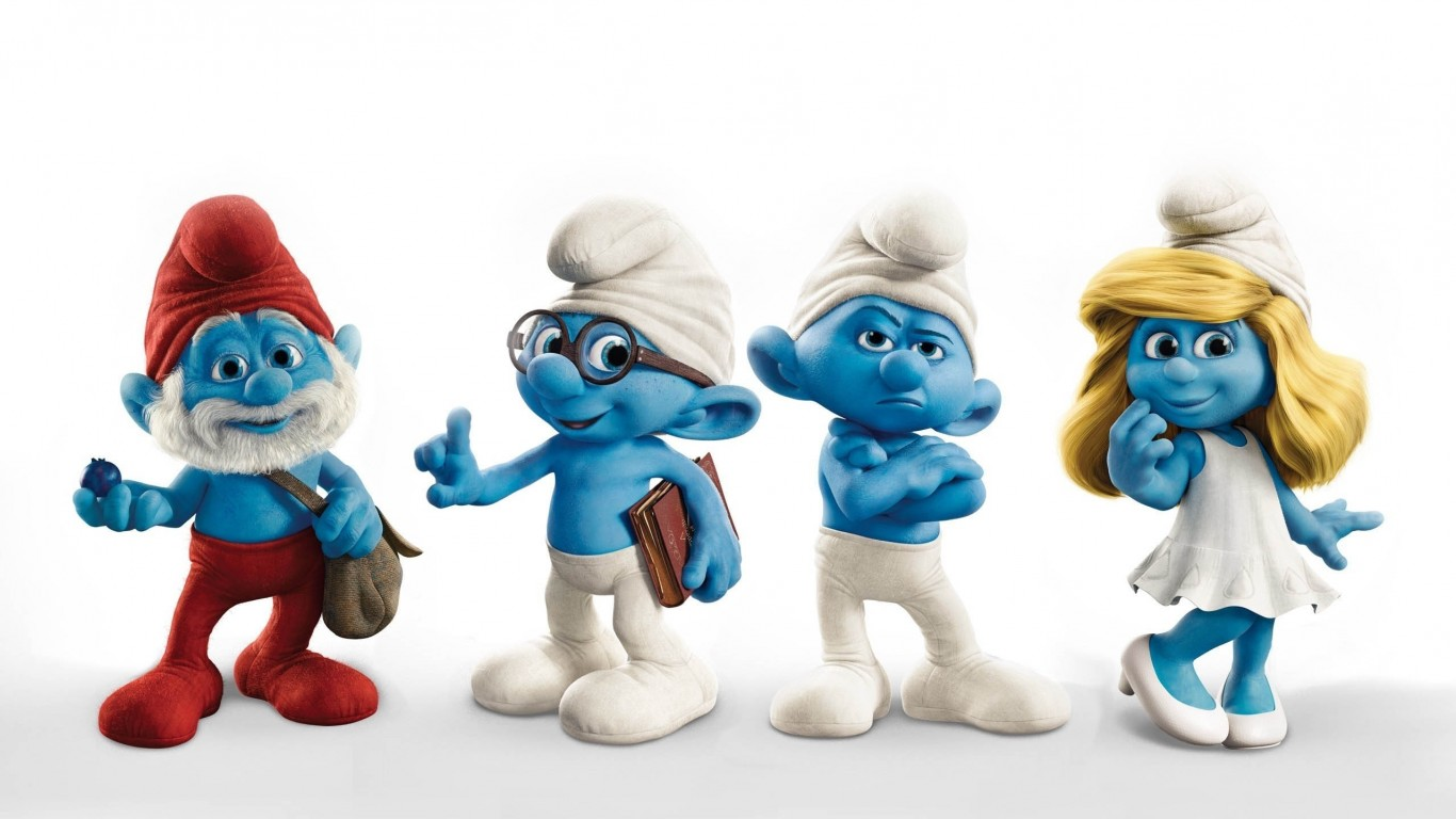The Smurfs Characters