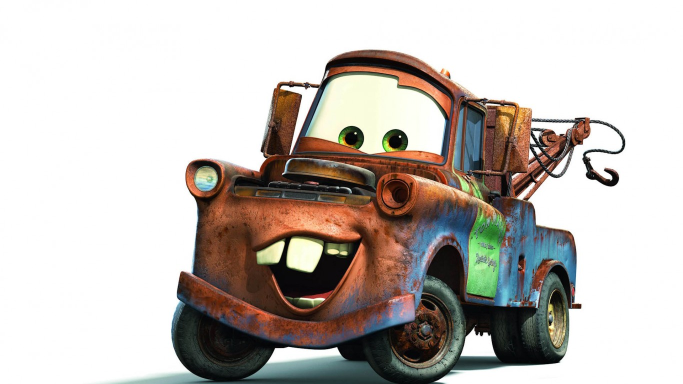 Tow Mater Cars Movie