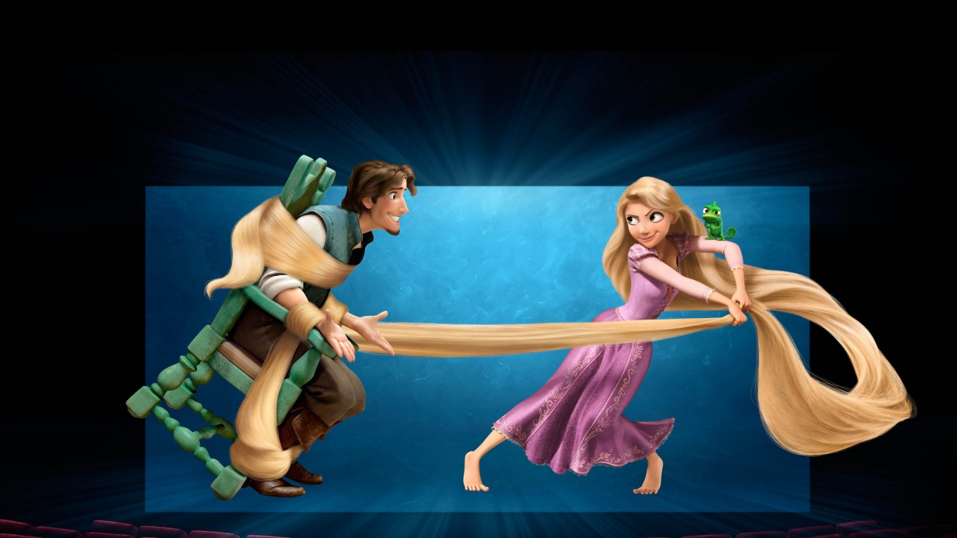 Tangled 3D Movie