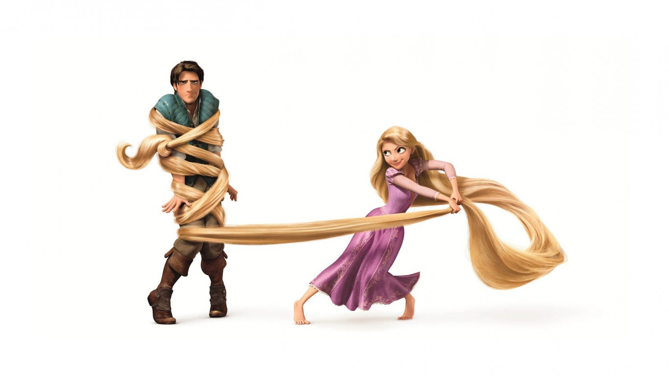 Tangled Rapunzel And Flynn Ryder 01