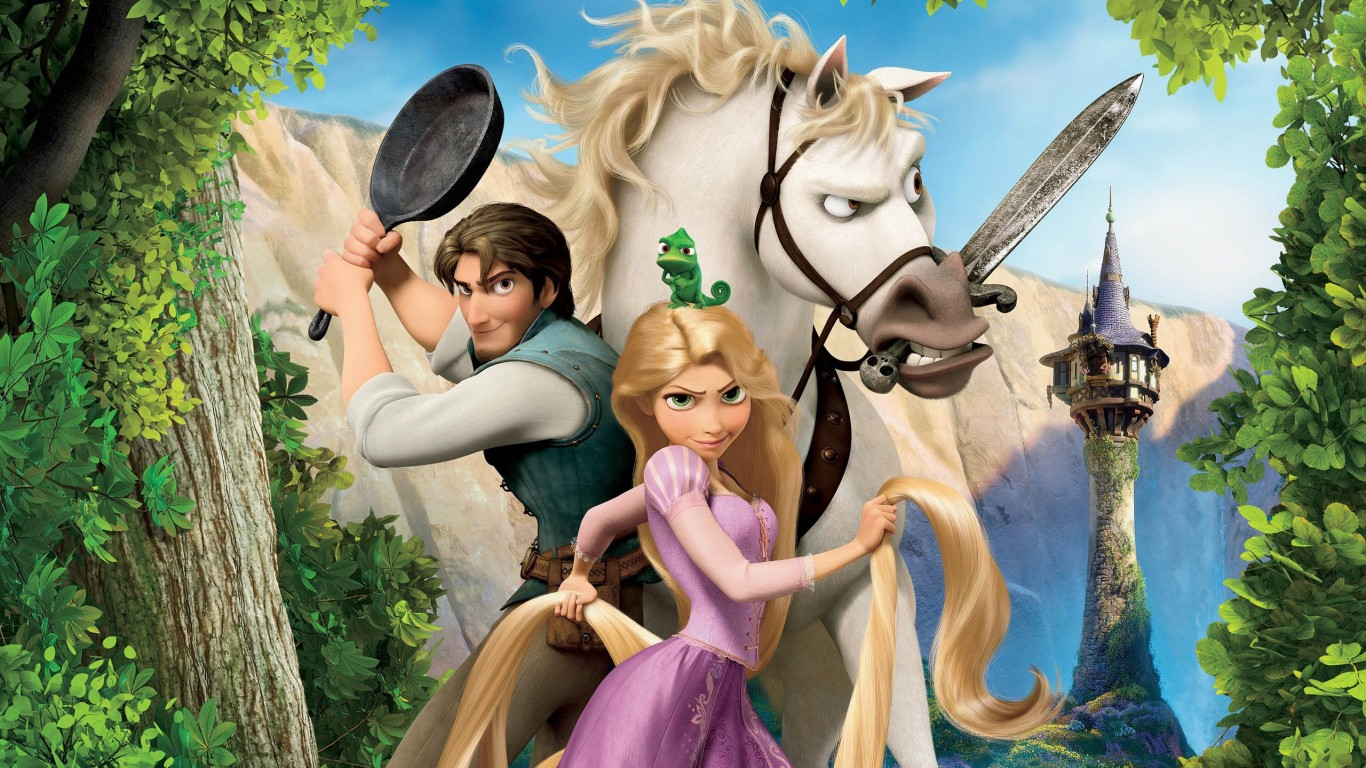Tangled Rapunzel  Flynn And Maximus