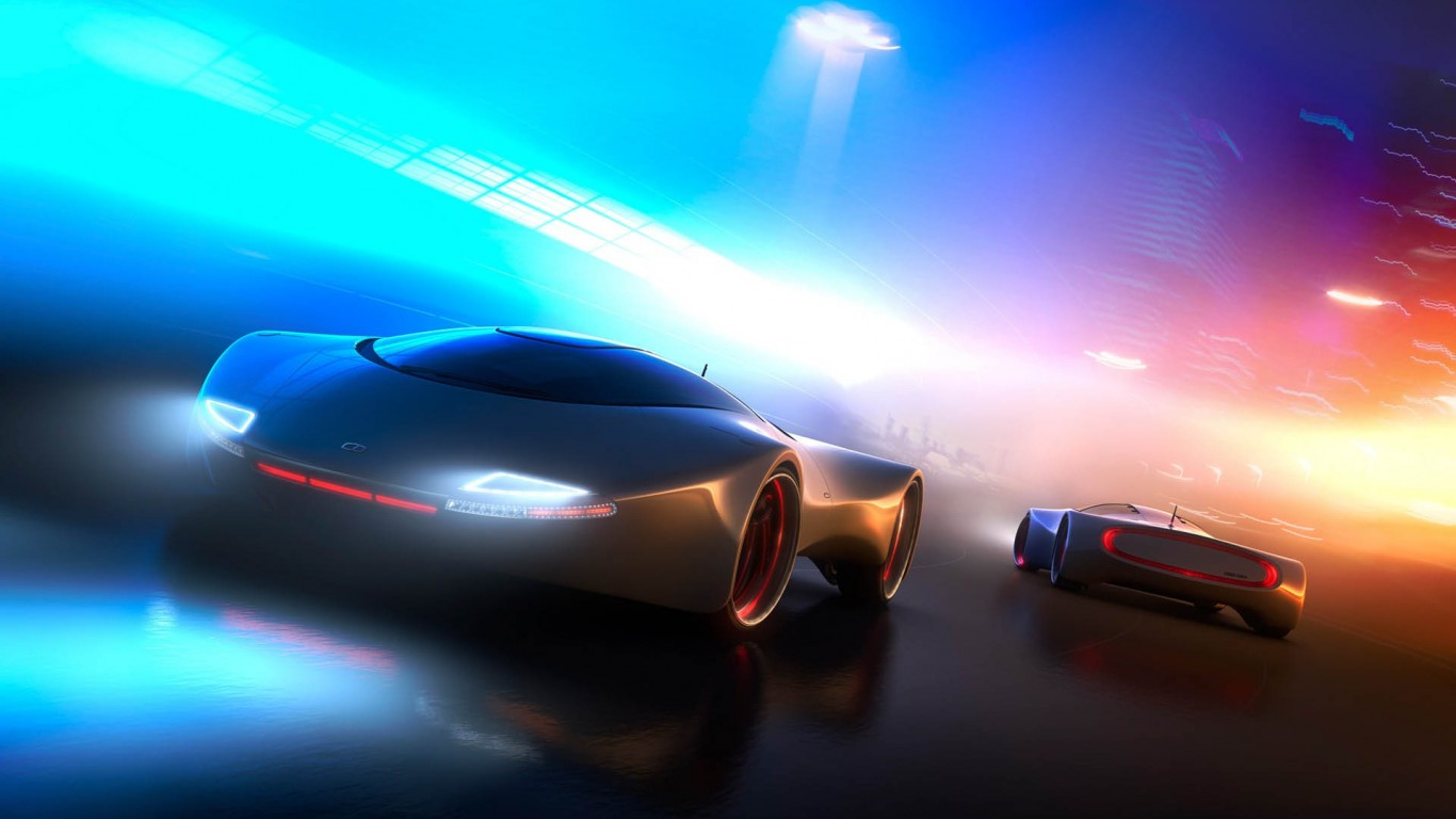 Concept Car – Syd Mead Comp