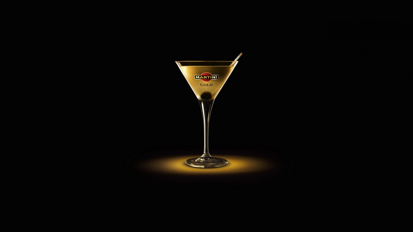 Martini Gold Finger