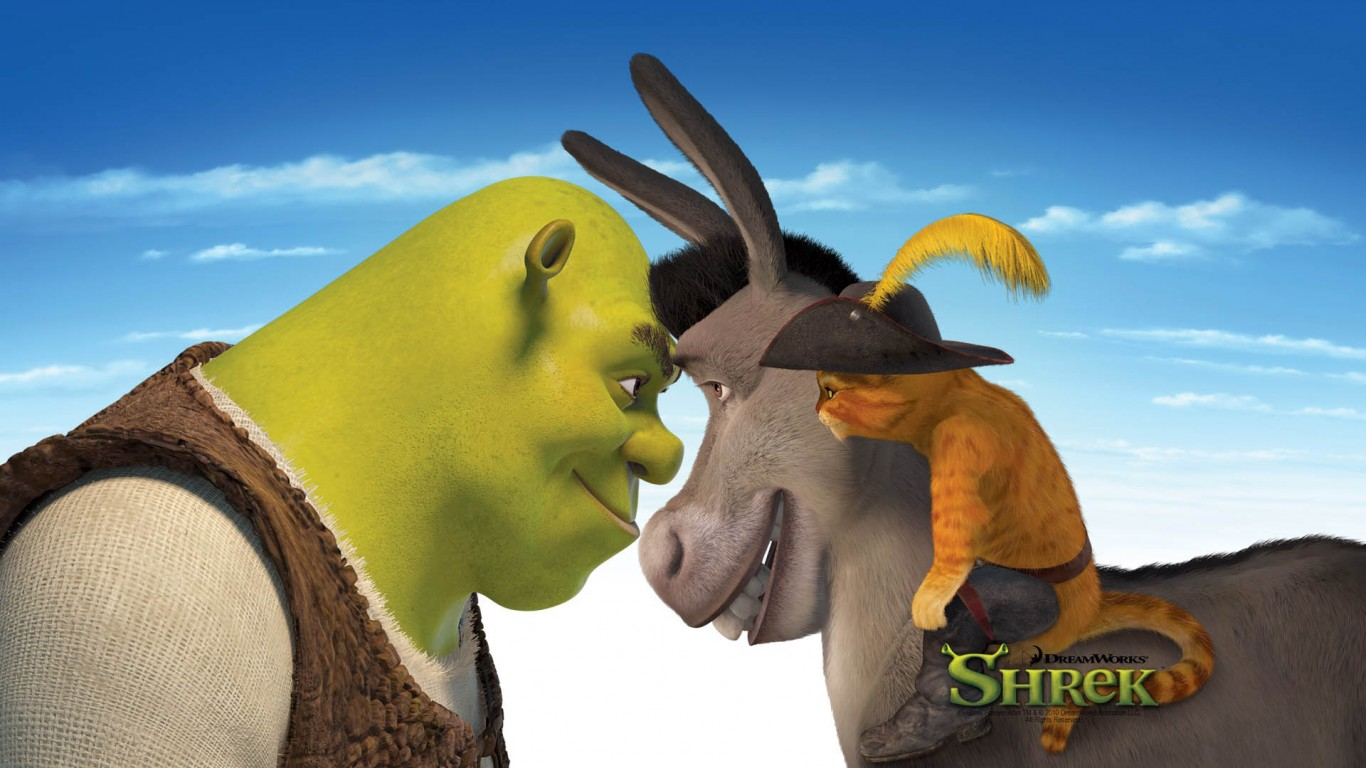 Shrek  Donkey And Puss  Shrek The Final Chapter