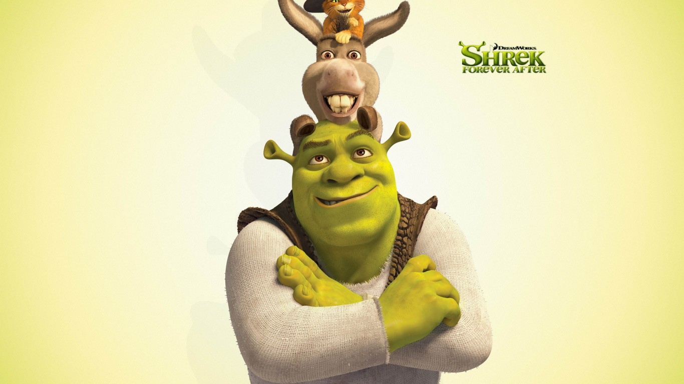 Shrek  Donkey And Puss In Boots  Shrek The