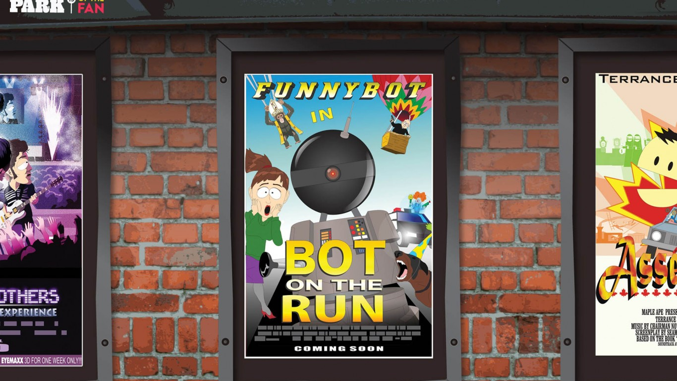 South Park – Bot On The Run
