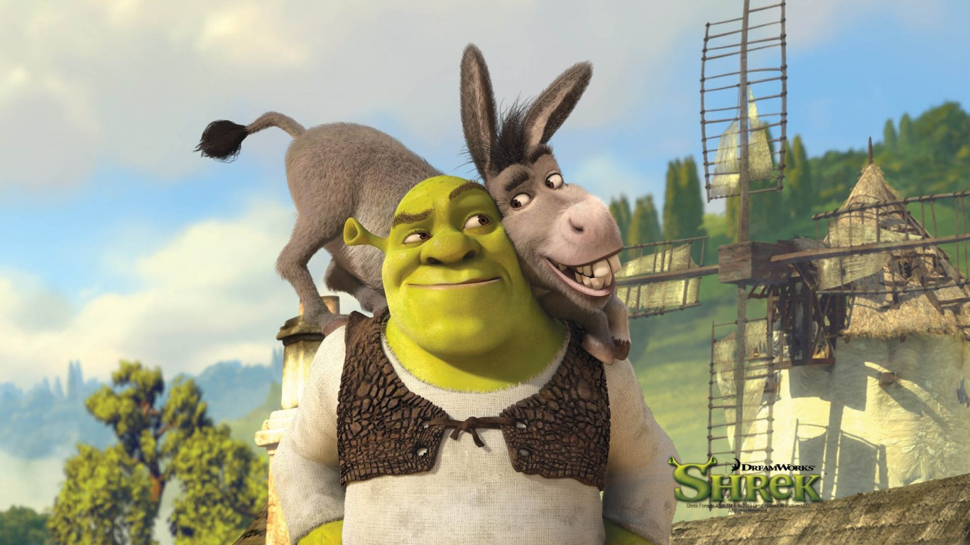 Shrek And Donkey  Shrek Forever After