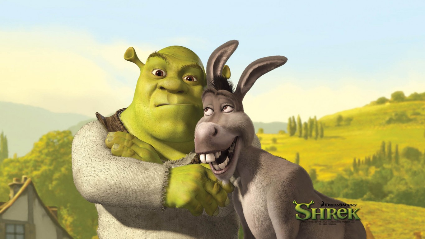 Shrek And Donkey  Shrek The Final Chapter