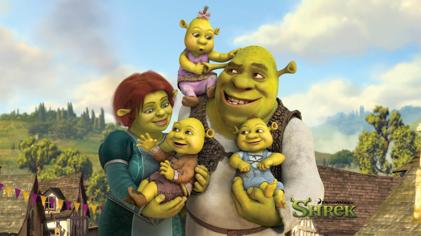 Shrek And Fiona's Babies  Shrek The