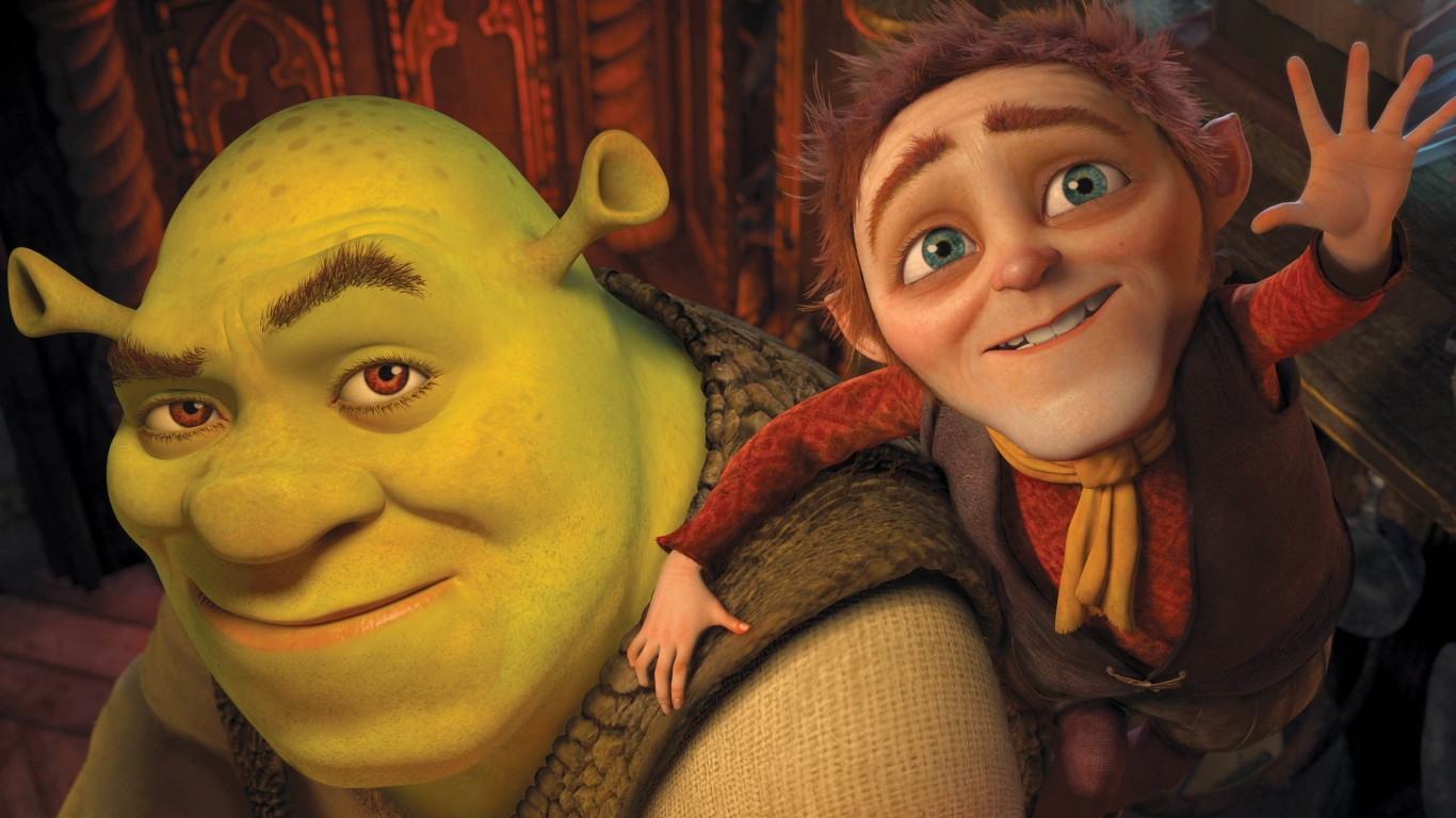 Shrek And Rumpelstiltskin  Shrek Forever After