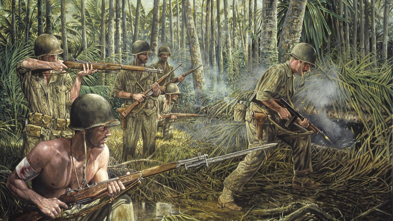 Soldiers At War Art