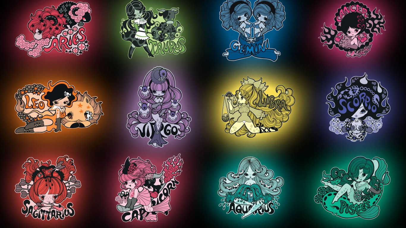 Zodiac Signs Anime Wallpapers Imagezfinder