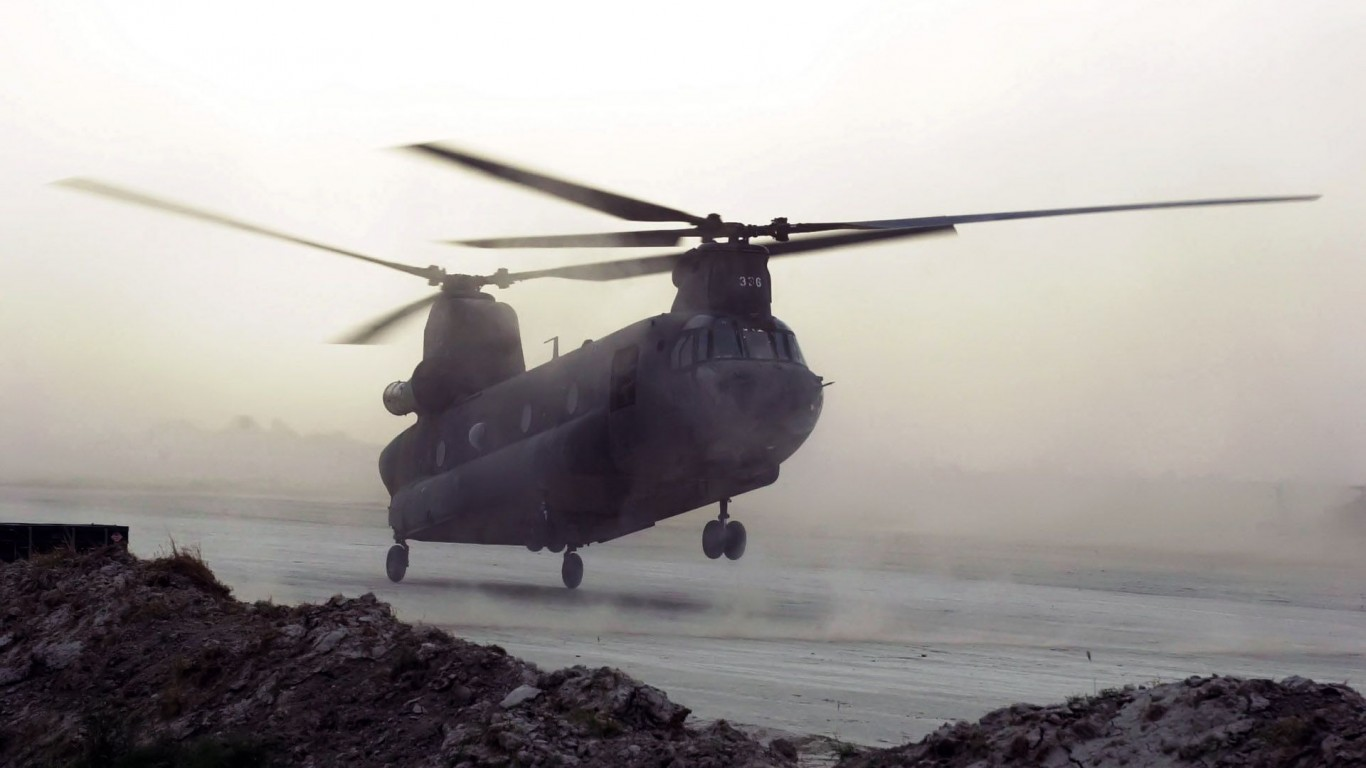 Military  Helicopters  CH-47 Chinook