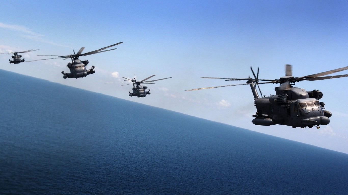 Military  Helicopters  Pave Low